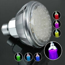 7 Color Romantic Adjustable Automatic Bathroom LED Shower Head Faucet Spraying