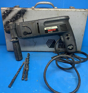 Black and Decker Industrial Rotory Hammer 5014 With Metal Case and Bits