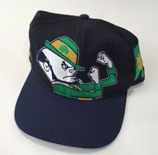 13a9140314b Vintage Notre Dame Fighting Irish BIG LOGO Snapback Hat Cap