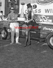 "Linda Vaughn ""Miss Hurst"" & Bill ""Grumpy"" Jenkins & His '66 Nova PHOTO! #(7)"