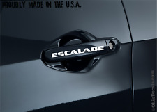 Cadillac Escalade door handle decal sticker / TWO DECALS (pair)
