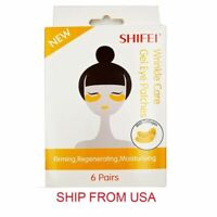 Gold Collagen Under Eye Patches Mask Anti Wrinkles Skin Care-6 PAIRS