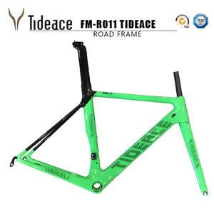 T800 Carbon Fiber Cycling Road Racing 700C Frames OEM Bike Frame with Fork BSA