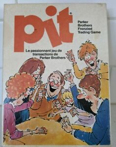 Vintage Pit Game 1973 Parker Brothers - Cards and instructions included