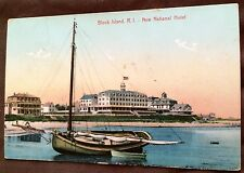 1900's Postcards One Cent Divided Hotel, Places, boats, water,