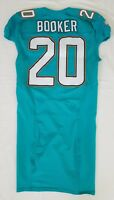 #20 Booker of Miami Dolphins NFL Game Issued Jersey w/50th Anv. Patch