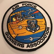 """USAF Air Force Patch:   Air Force Gunners Association - 4"""""""