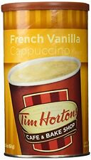 NEW Tim Hortons Instant Cappuccino French Vanilla 16 Ounce FREE SHIPPING