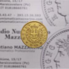 10 Lire 1863 Torino 1/2 Marengo (Regno Italia VE II) MB-BB LOT1782