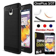 OnePlus Three 3 / 3T Case Cover, MAXSHIELD Slim-Fit HEAVY DUTY Bumper Case