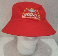 Liverpool Sun / Bucket Hat - Red - Adults - Champs 2020