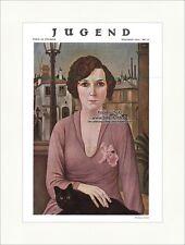 Titelseite der Nummer 20 von 1927 Christian Schad Frau Katze Stadt Jugend 4547