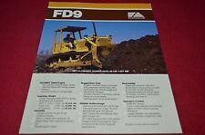 Fiat Allis FD9 Crawler Tractor Dozer Dealer's Brochure DCPA6 Ver2