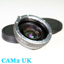 Focal Reducer Speed Booster Adapter Canon EOS EF lens to Canon EOS M EF-M M3 M10