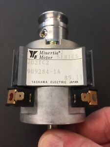MINERTIA 24 VDC MOTOR WITH PULLEY  FOR HOBBY -JEWELRY LATHE ETC. 2 BALL BEARINGS