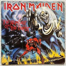 IRON MAIDEN - The Number of the Beast LP 1.Press 1982 ! Metallica BLACK SABBATH