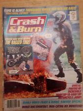 Crash And Burn Magazine Jan 1989. Dirt bike magazine