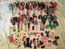 Lot Of 23 Monster High Dolls Plus  Some Accessories