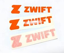 Zwift turbo trainer road bike sticker. Tacx Wahoo kickr neo