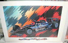 A. J. FOYT COPENHAGEN #14 INDY 500 MULTIPLE WINNER LTD. ED. PRINT 1991 24 X 34