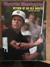 Gary Player Autographed Sports Illustrated
