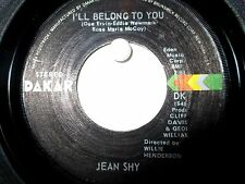 Jean Shy  Dakar 4504  I'll Belong to You b/w Nothing Between Us Now  Soul