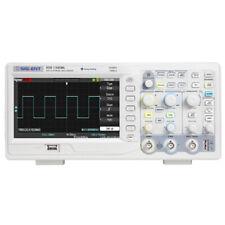 "Oscilloscope Model SDS1102CML+, 100MHz, 2 channels, 1GSa/s, 2M memory depth, 7"""