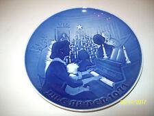 Bing & Grondahl B&G Demark 1971 Christmas plate Christmas at Home 8000/9071 New