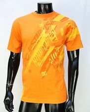 Dc shoes Usa Team Skateboard Draft up Orange Classic mens t shirt Medium