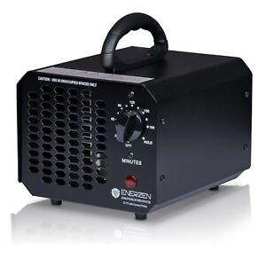 Enerzen Commercial Industrial Ozone Generator Pro Air Purifier Mold Mildew Black