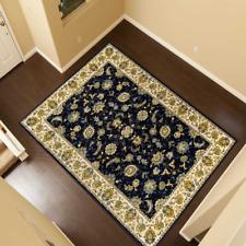 Teppich Klassisch Orient Traditionell Persisch mit Umrandung Flair NAZ Blau TS