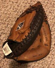 "Easton Natural Elite NE 2Y Leather Softball Baseball Catchers Mitt Glove RHT 10"""