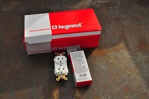 Legrand PT8300W Hospital Grade 20A 125V PLUGTAIL  Straight Blade  BOX OF 10