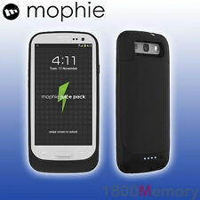 GENUINE Mophie Juice Pack Battery Case for Samsung Galaxy S III 3 S3 Matte Black