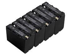 new 4 piece NP-F970 Battery for Sony Video Camera CCD-TR425E TR427 TR500 TR511E