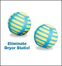 Anti Static Laundry Balls - Dryer Max - Reusable- 2 per set