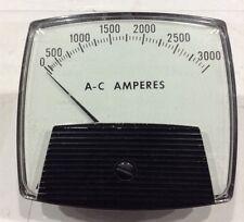 250-440-Lsvj-Ul / 250440Lsvj/Ul Branom Instrument Meter 0-3000 Aac Scale