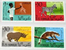 SOMALIA 1960 12-15 245-47 C72 for Children Säugetiere Animals Tiere Fauna MNH