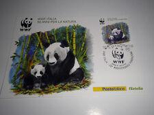 "FRANCOBOLLI ITALIA REPUBBLICA  2016 ""WWF - PANDA"" CARTOLINA POSTALE (CAT.10)"