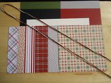 Stampin Up FESTIVE FARMHOUSE  6 x 6 Designer Card Kit CHRISTMAS Rare