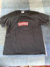 Supreme Comme Des Garcons CDG Box Logo Bogo Tee T-Shirt Black Small Farfetch