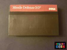 JUEGO SEGA MASTER SYSTEM MISSILE DEFENSE 3-D