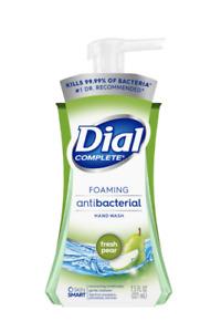Dial Complete Foaming Hand Wash, Fresh Pear, 7.5 Fl. Oz. Pump Bottle
