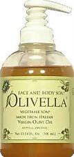 Olivella Virgin Olive Oil Face and Body Liquid Soap 10.14 oz