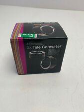 VIVITAR 2X TELE CONVERTER Series 1 35MM SLR CAMERAS DG 2 Fits Nikon 0630217