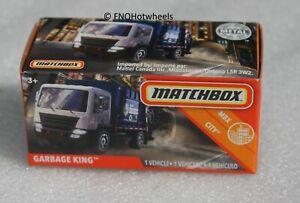 Matchbox MBX City Garbage King Truck 20/100 FNQHotwheels FM1