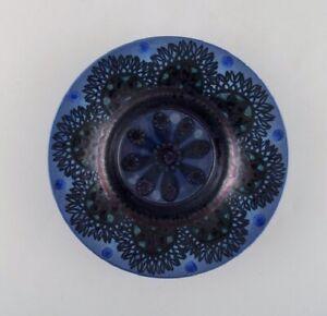 Friedl Holzer Kjellberg for Arabia. Bowl in glazed ceramics. 1950's