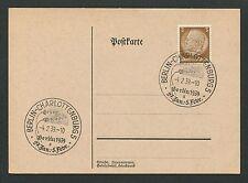 """3. REICH 1939 SStpl. Berlin """"GRÜNE WOCHE"""" d6533"""