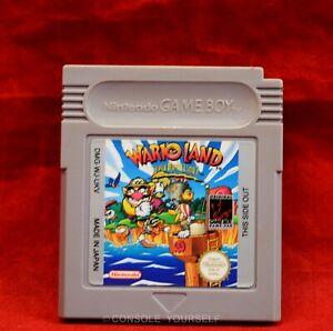 WARIO LAND - SUPER MARIO LAND 3 - USED CART ONLY - GAME BOY - PAL UK