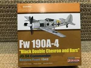 Dragon Wings-Warbirds 1:72 Fw190A-4, JG 54, Eastern Front 1942, No. 50324